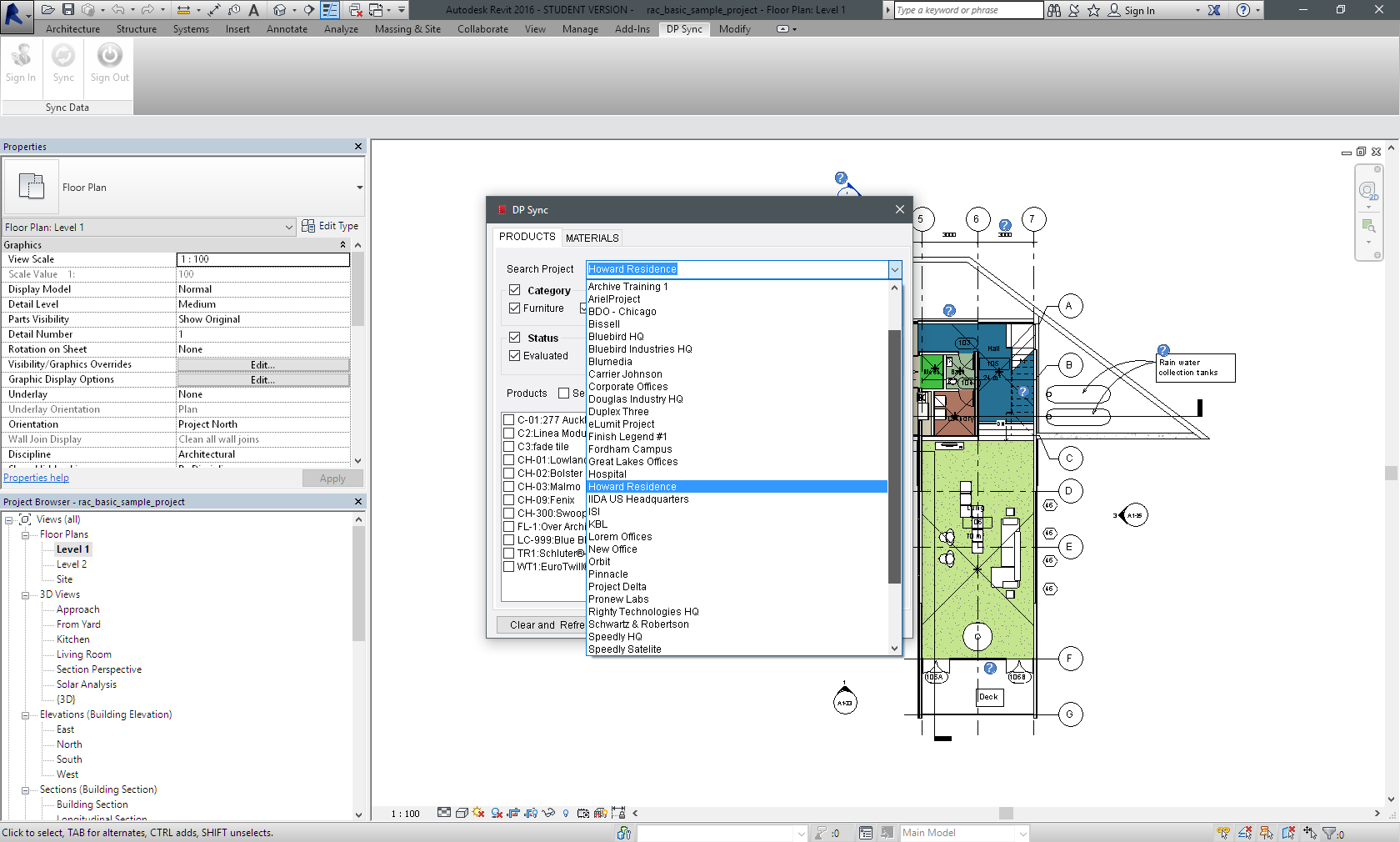 Connect To All Of Your Projects In Designer Pages PRO And Pair Up Products With Families Revit The Same Code Tag Typemark